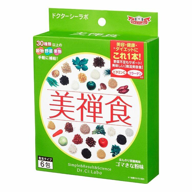 美禅食6包セット 15.4g×6包