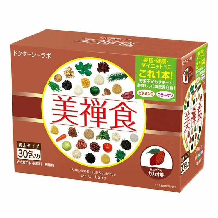 美禅食カカオ味 15.5g×30包