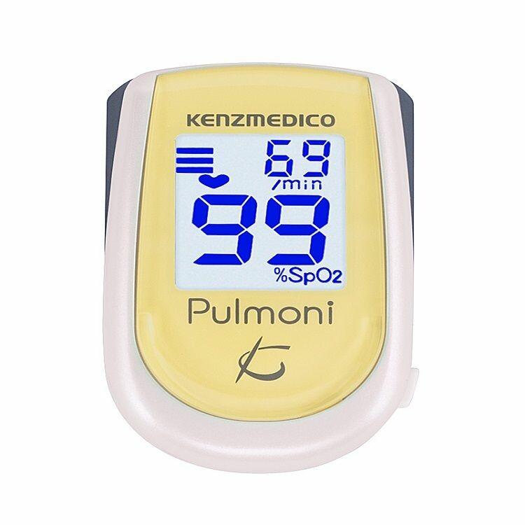 【高度管理医療機器】パルスオキシメ-タ パルモニ KM-350  レモンイエロー
