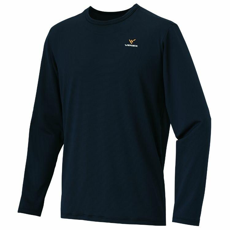ベネクス リフレッシュ Tシャツ ロングスリーブ メンズ ブラック