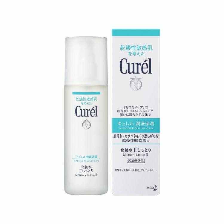 キュレル化粧水Ⅱノーマルな使用感 150ml
