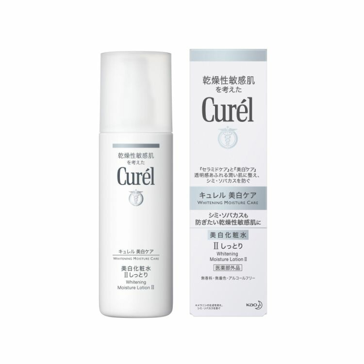 キュレル美白化粧水2ノーマルな使用感 140ml