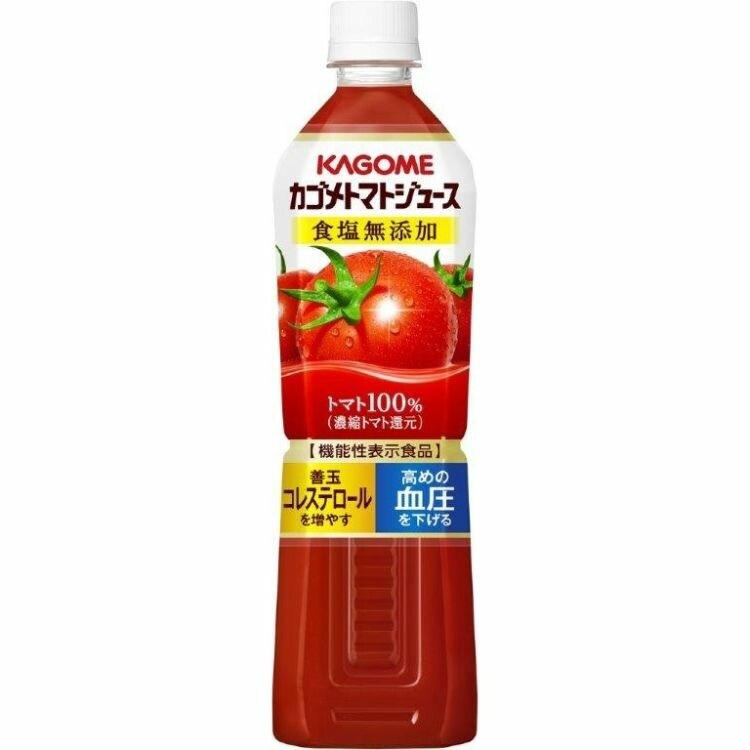 カゴメトマトジュース食塩無添加 スマートPET 720ml