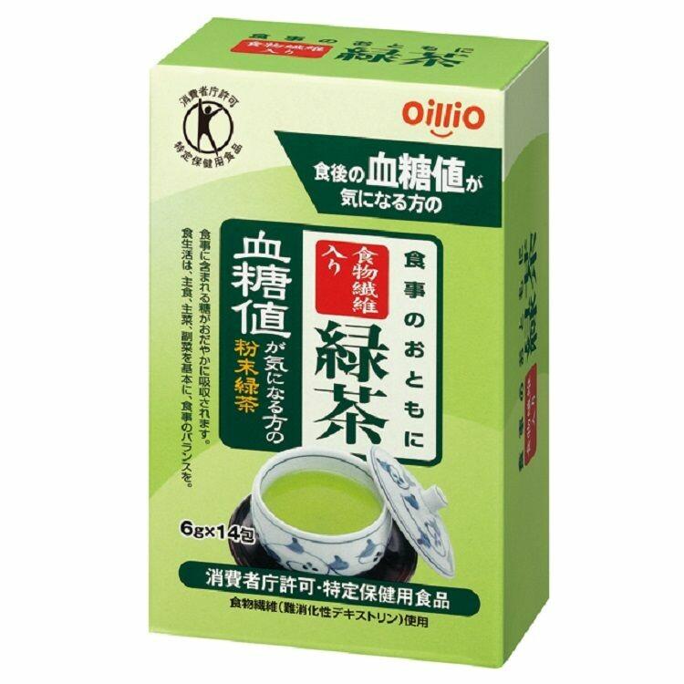 食事のおともに食物繊維入り緑茶 6g×14包