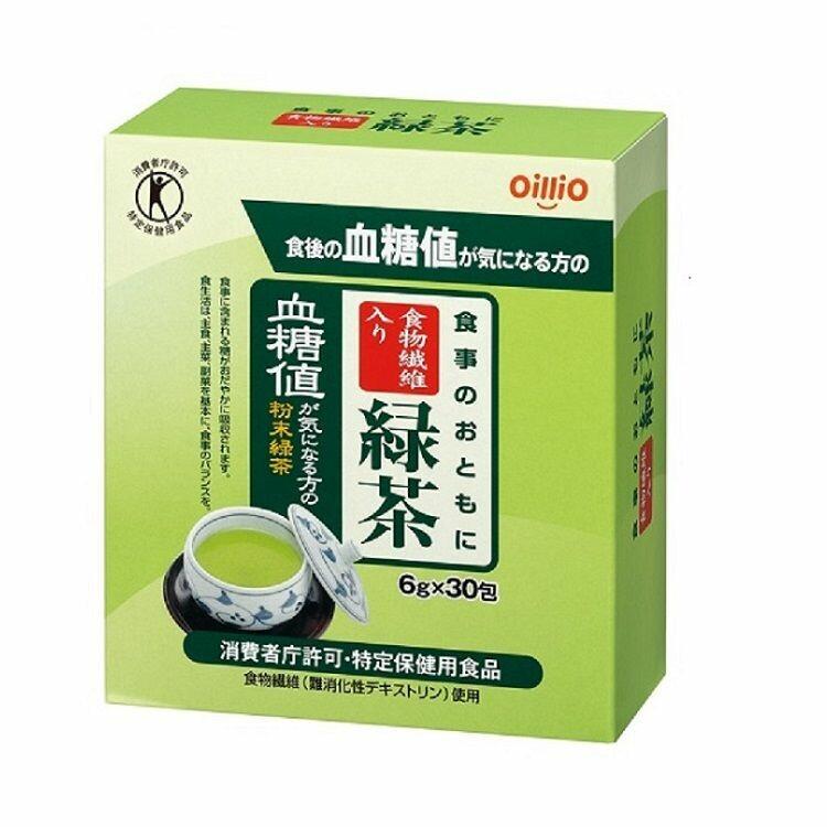 食事のおともに食物繊維入り緑茶 6g×30包