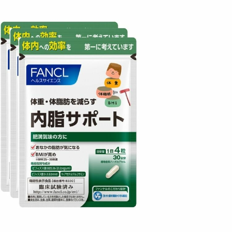 ファンケル内脂サポート(徳用タイプ約90日分) 120粒×3袋
