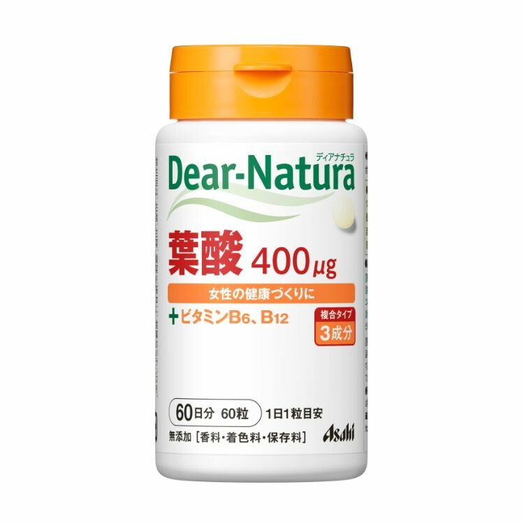 ディアナチュラ 葉酸(60日) 60粒