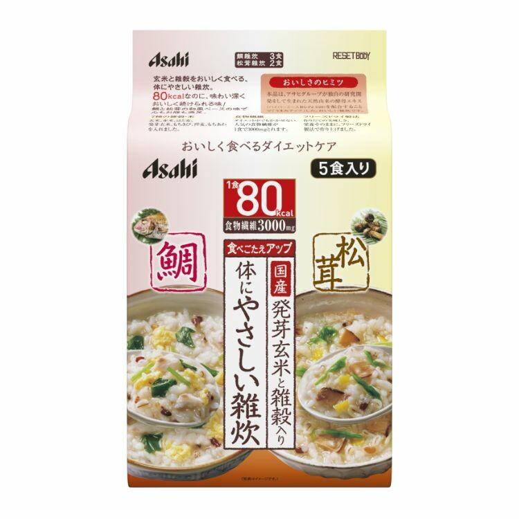 リセットボディ 体にやさしい鯛&松茸雑炊 5食