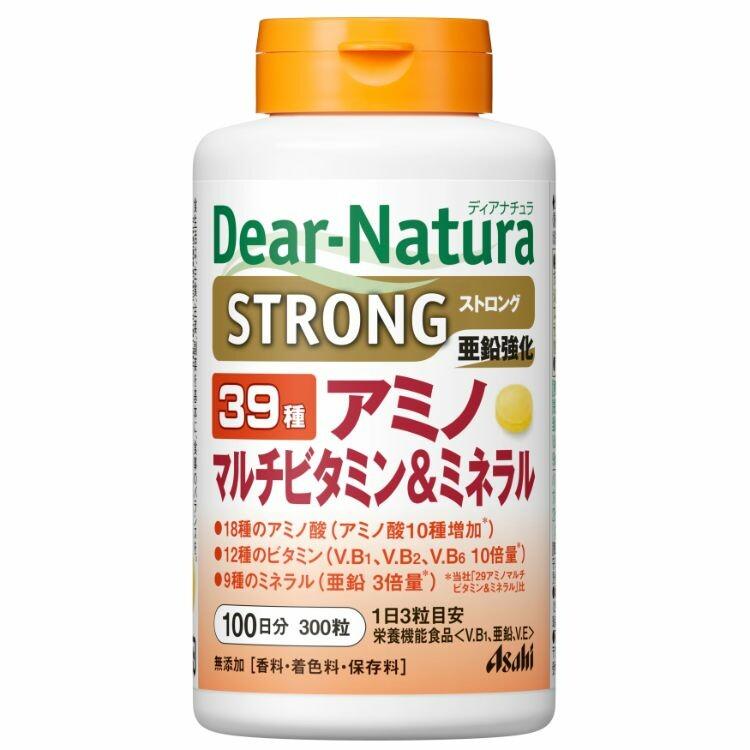 ディアナチュラ ストロング39アミノ マルチビタミン&ミネラル(100日) 300粒