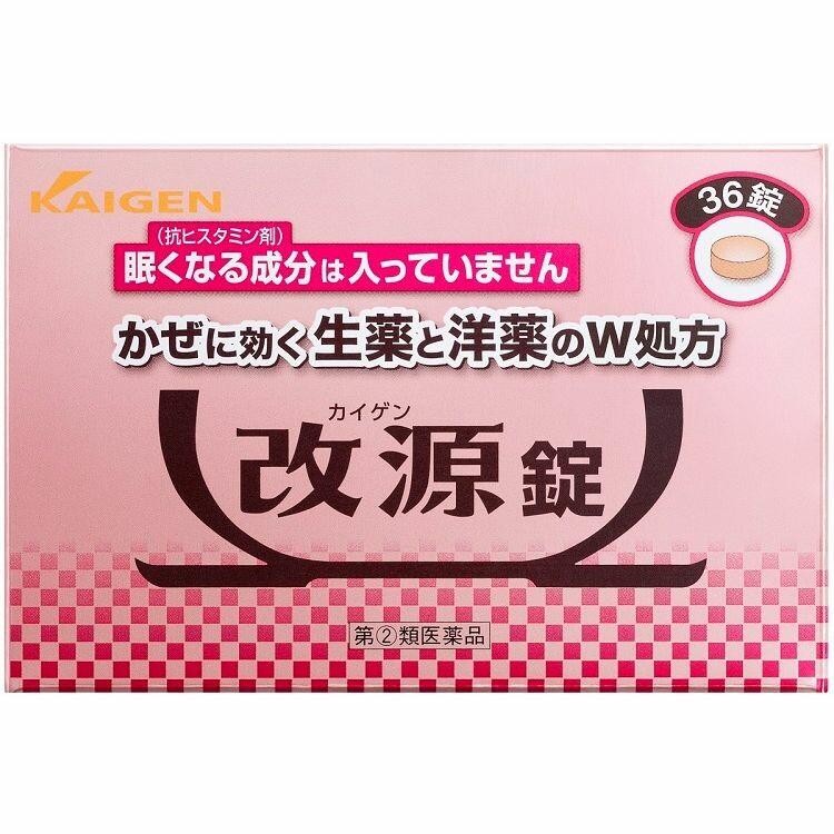 【指定第2類医薬品】改源錠 36錠