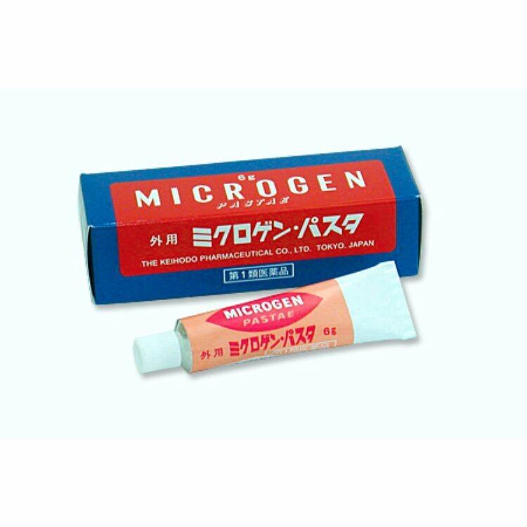 【第1類医薬品】ミクロゲン・パスタ 6g