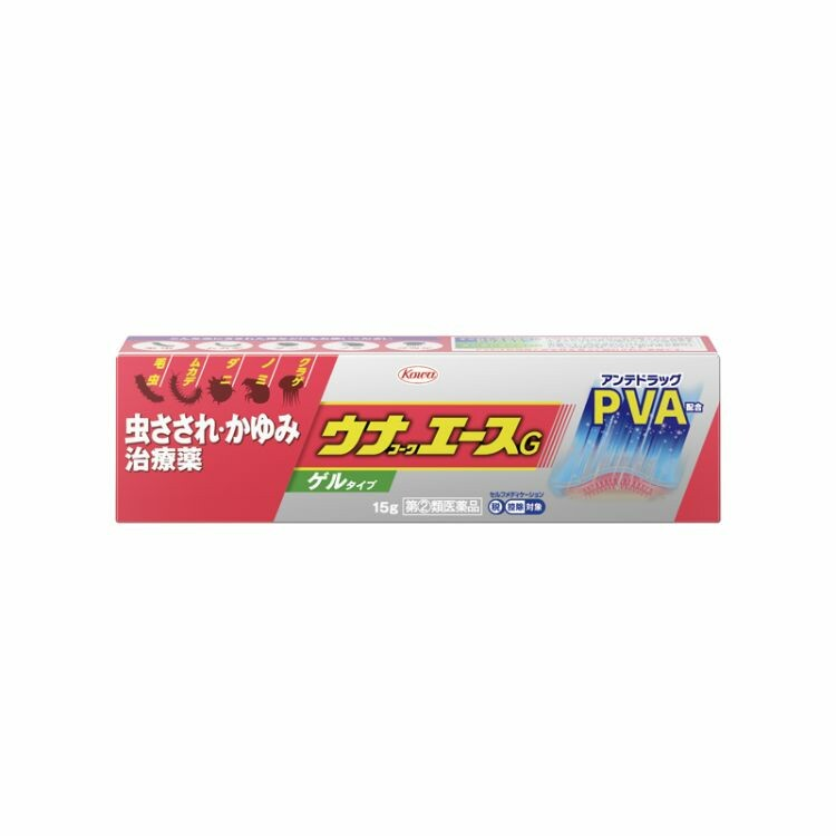【指定第2類医薬品】ウナコーワエースG 15G