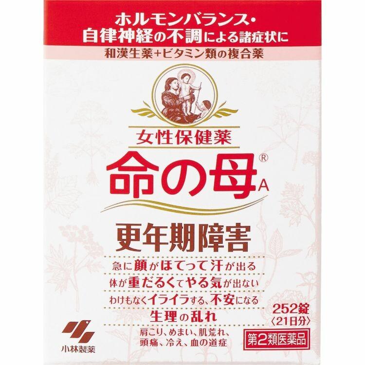 【第2類医薬品】命の母A252錠