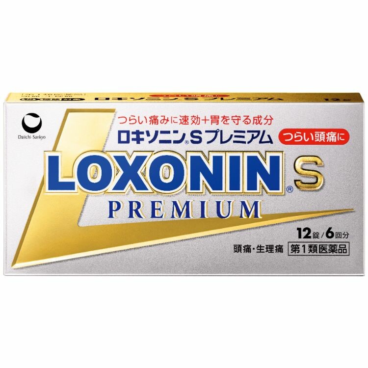 【第1類医薬品】ロキソニンSプレミアム 12錠