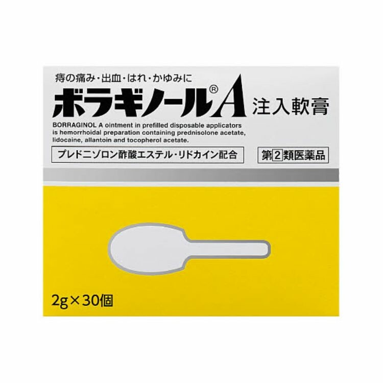 【指定第2類医薬品】ボラギノールA注入軟膏 2GX30