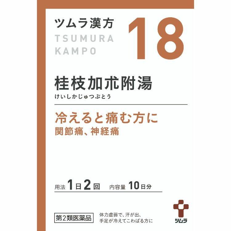 【第2類医薬品】ツムラ漢方桂枝加朮附湯エキス顆粒 20包