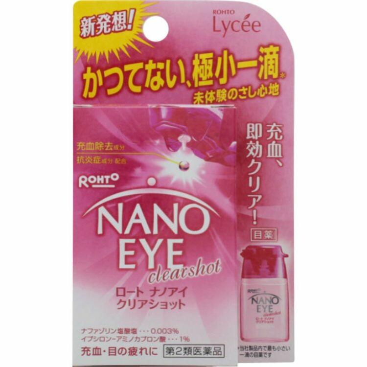 【第2類医薬品】ロートナノアイクリアショット 6ML