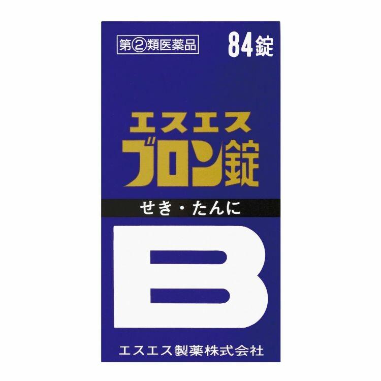 【指定第2類医薬品】エスエスブロン錠 84T