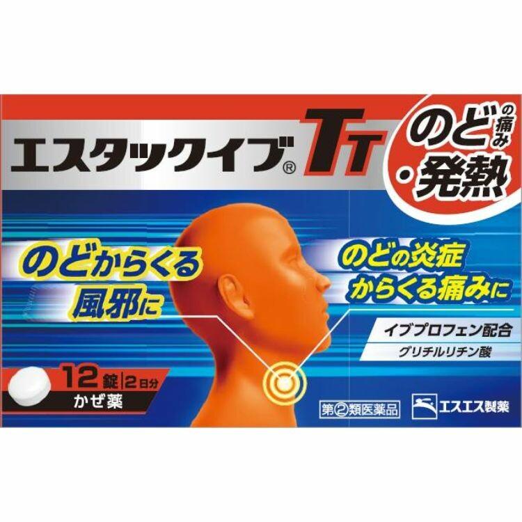 【指定第2類医薬品】エスタックイブTT 12T