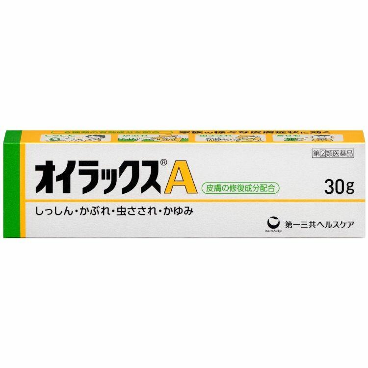【指定第2類医薬品】オイラックスA 30g