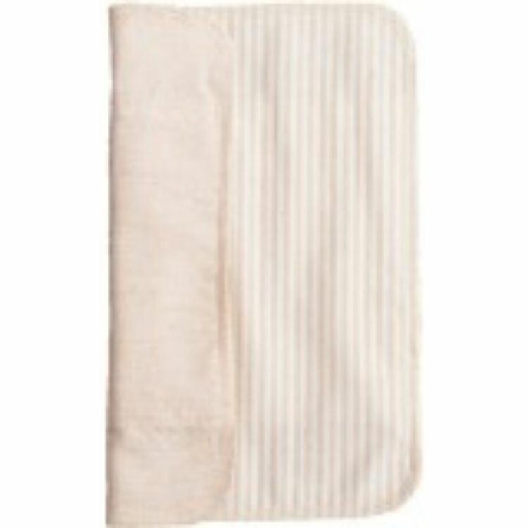 三つ折り布ナプキン【厚手/ストライプ茶】 40g