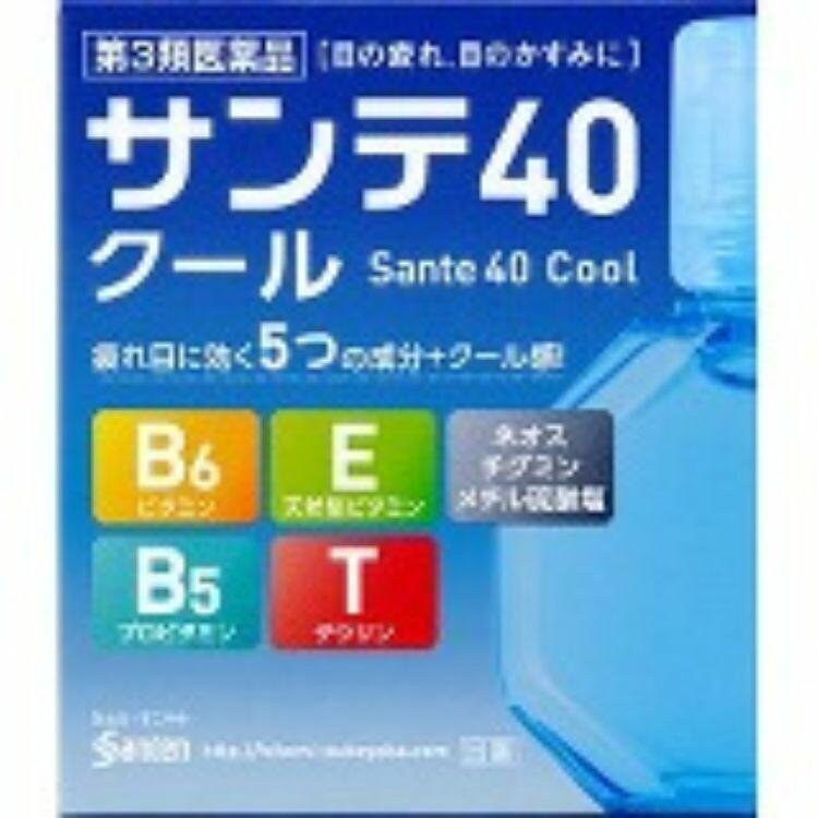 【第3類医薬品】サンテ40クール 12mL