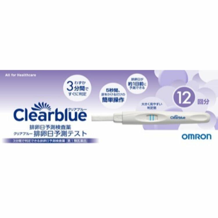 【第1類医薬品】【アウトレット品】クリアブルー排卵日予測テスト 12回用