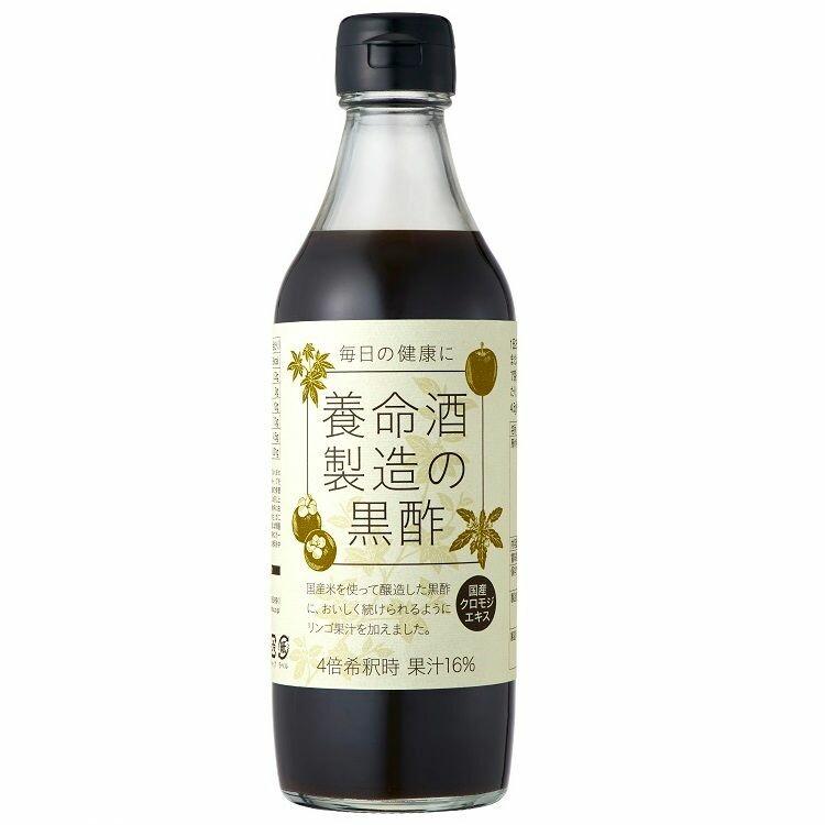 養命酒製造の黒酢 360ml