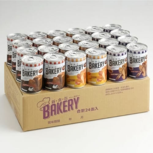 新食缶ベーカリー 缶入りソフトパン・24缶アソート<C>【賞味期限残4年以上】