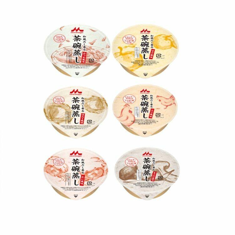 【メーカー直送】和風だし香る茶碗蒸し いろいろセット 24個(6種×4個)