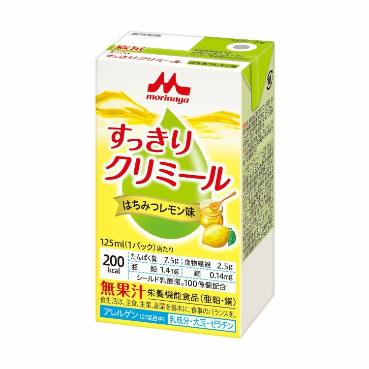 【メーカー直送品】エンジョイすっきりクリミール はちみつレモン味 125ml×24本