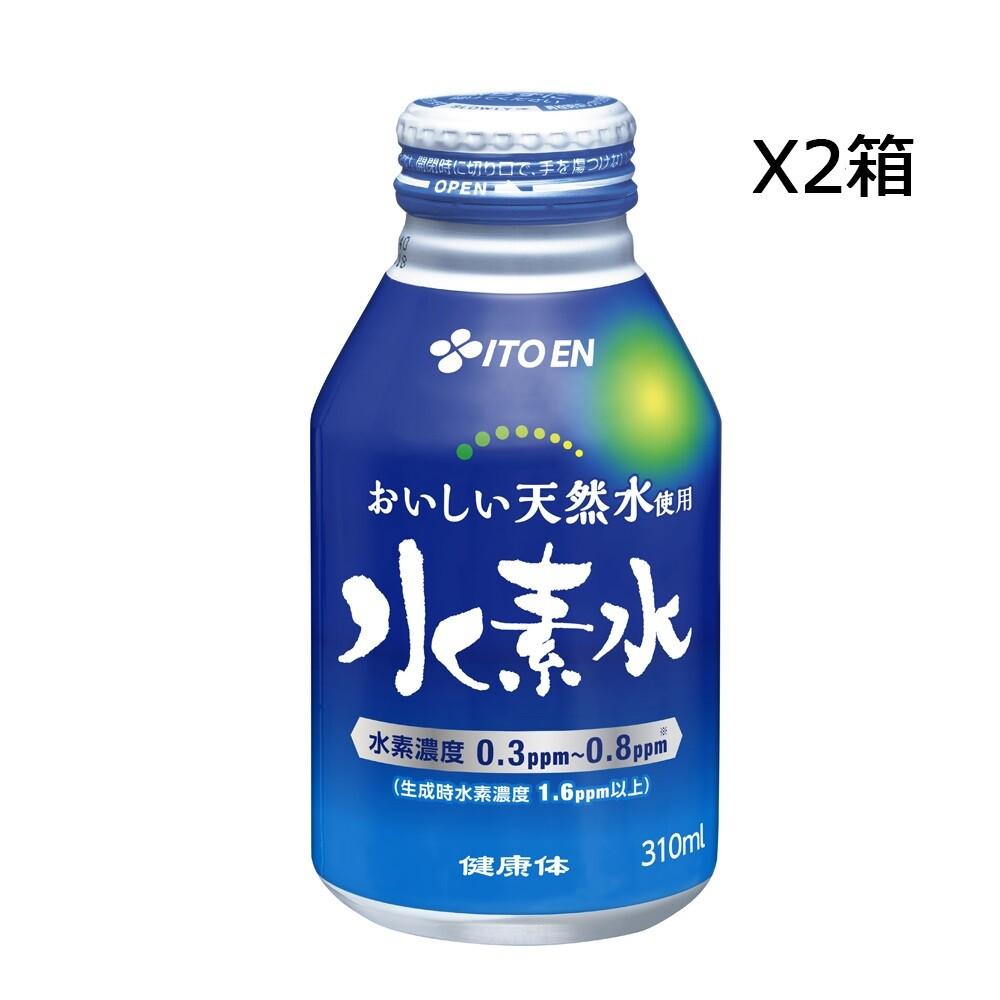 伊藤園「健康体」 水素水 缶310ml 24本×2箱