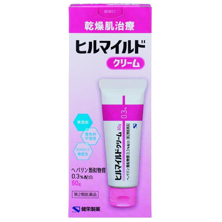 【第2類医薬品】健栄製薬 ヒルマイルドクリーム  60g
