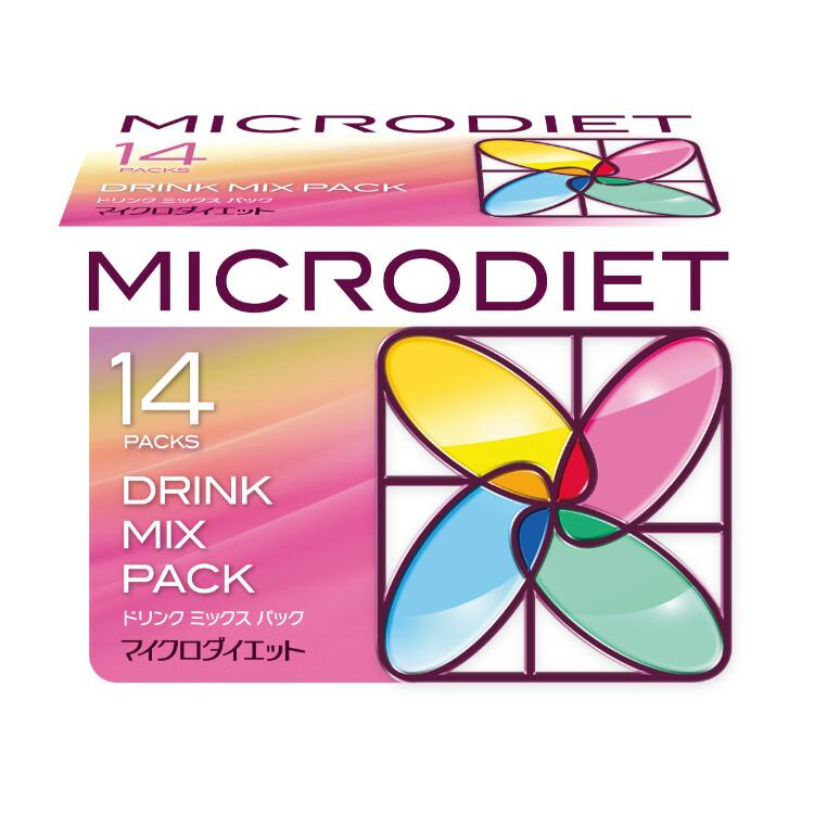 マイクロダイエット ドリンクミックスパック 14袋