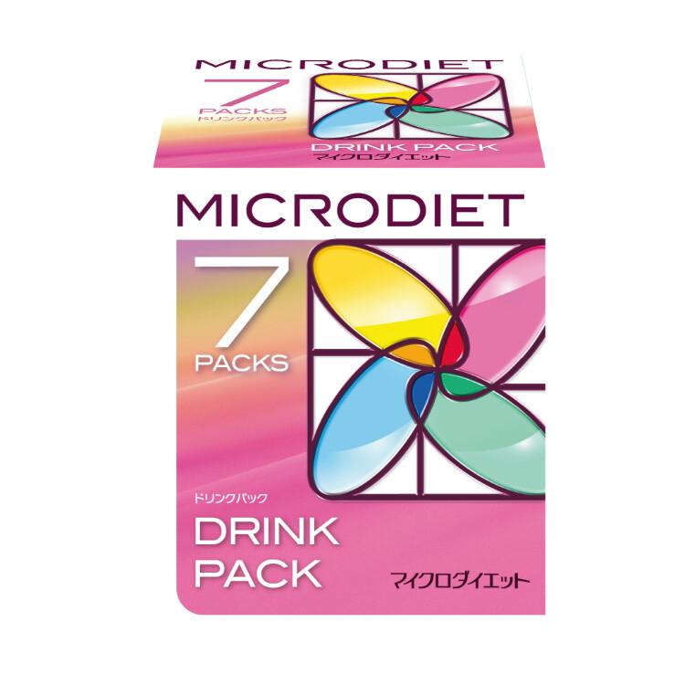 マイクロダイエット ドリンクミックスパック 7袋