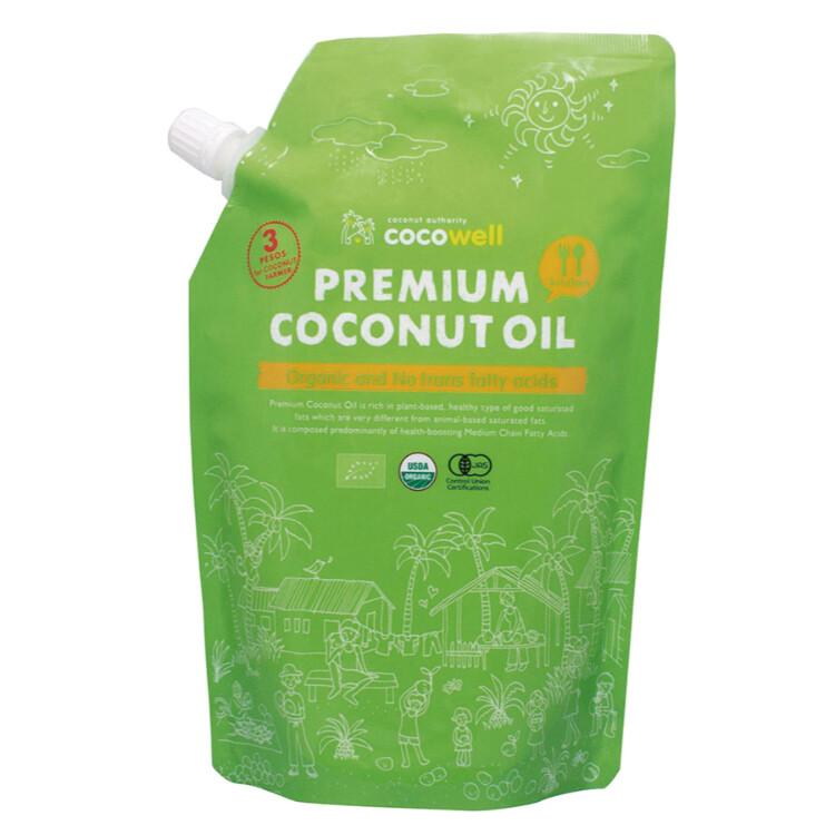 有機プレミアムココナッツオイル(無香タイプ)460g