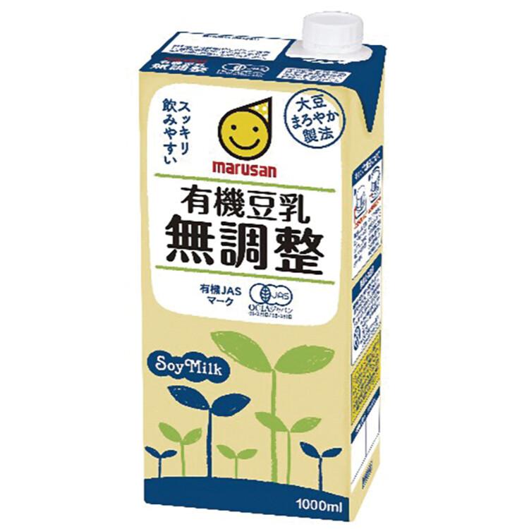 有機豆乳 無調整(大) 1L