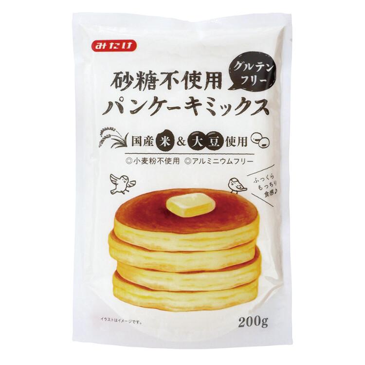 砂糖不使用グルテンフリーパンケーキミックス200g