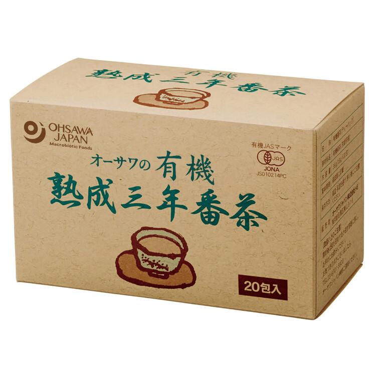 オーサワの有機熟成三年番茶(ティーバッグ)36g(1.8g×20包)