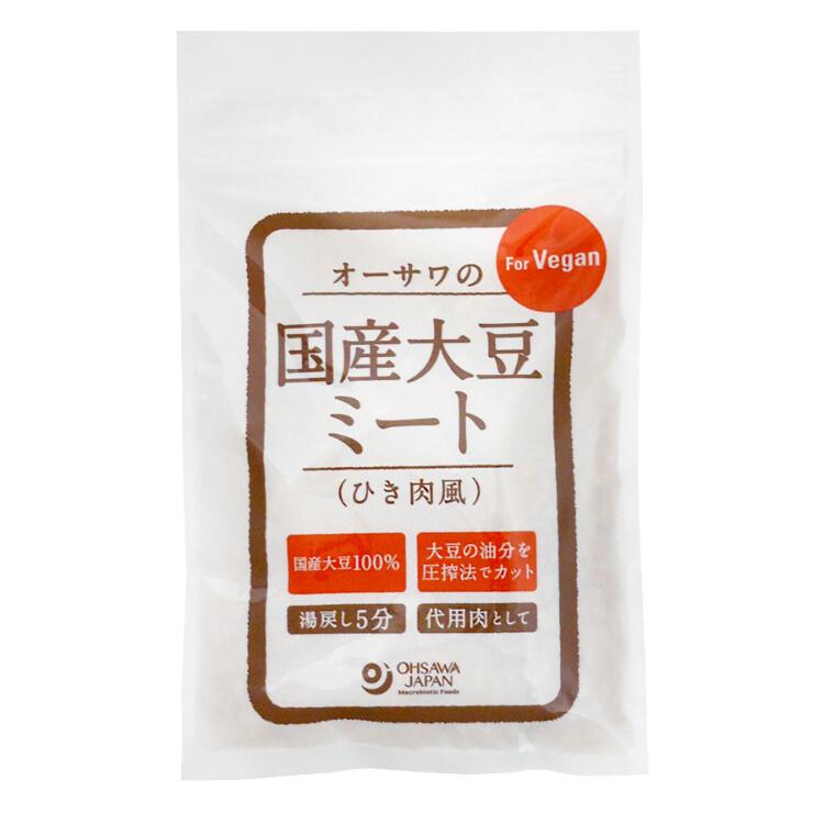 オーサワの国内産大豆ミート(ひき肉風)100g