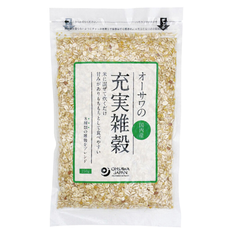 オーサワの充実雑穀(国内産)250g