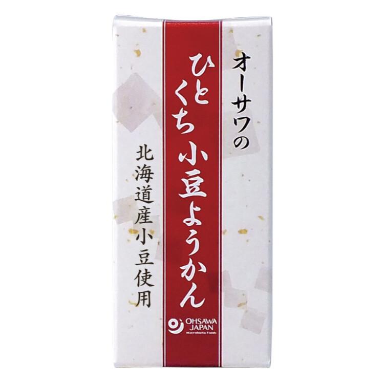 オーサワのひとくち小豆ようかん1本(58g)