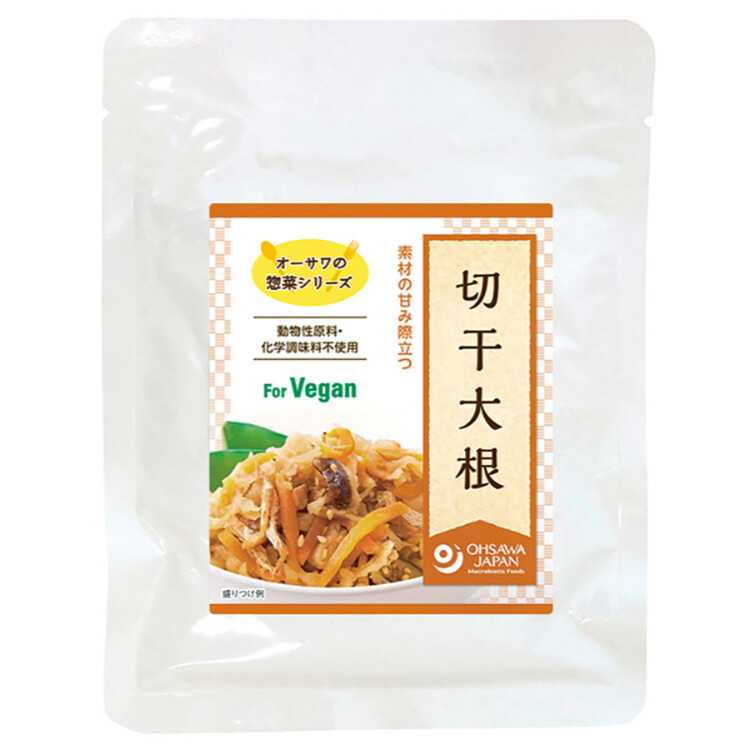 オーサワの惣菜シリーズ切干大根(煮物)100g