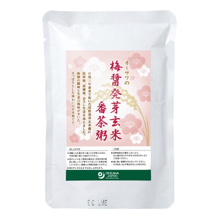 オーサワの梅醤発芽玄米番茶粥200g