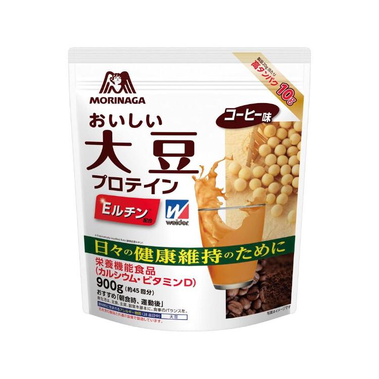 おいしい大豆プロテインコーヒー味900g(45回分)