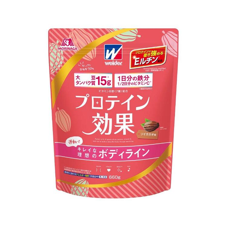 プロテイン効果ソイカカオ味660g