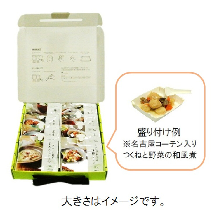 イザメシキャリーボックスDeli 8食入