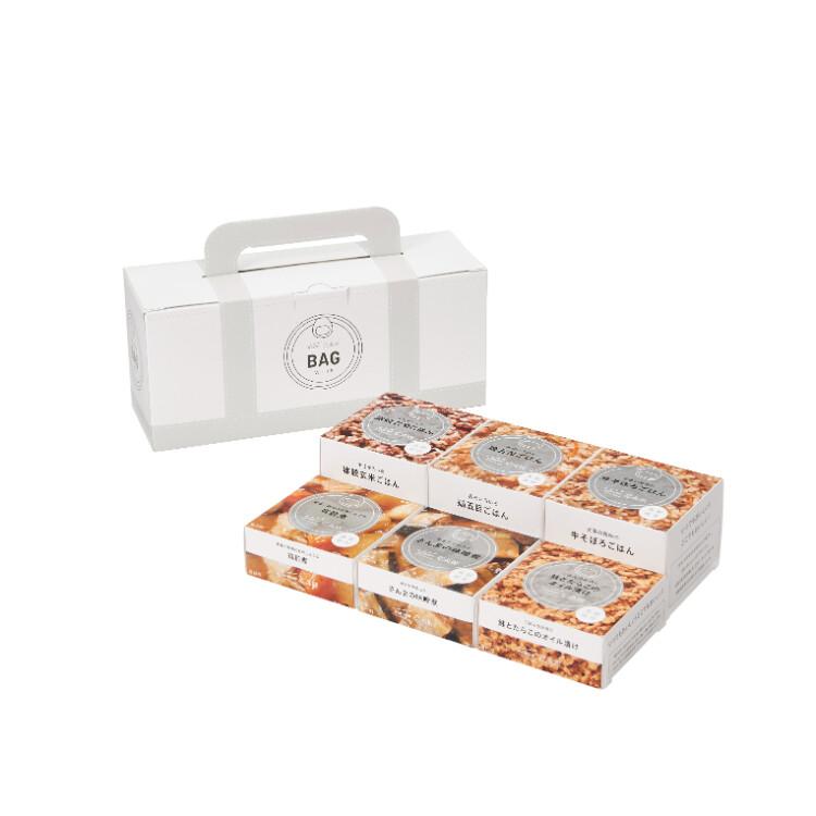 イザメシ缶BAG 6缶セット ホワイト