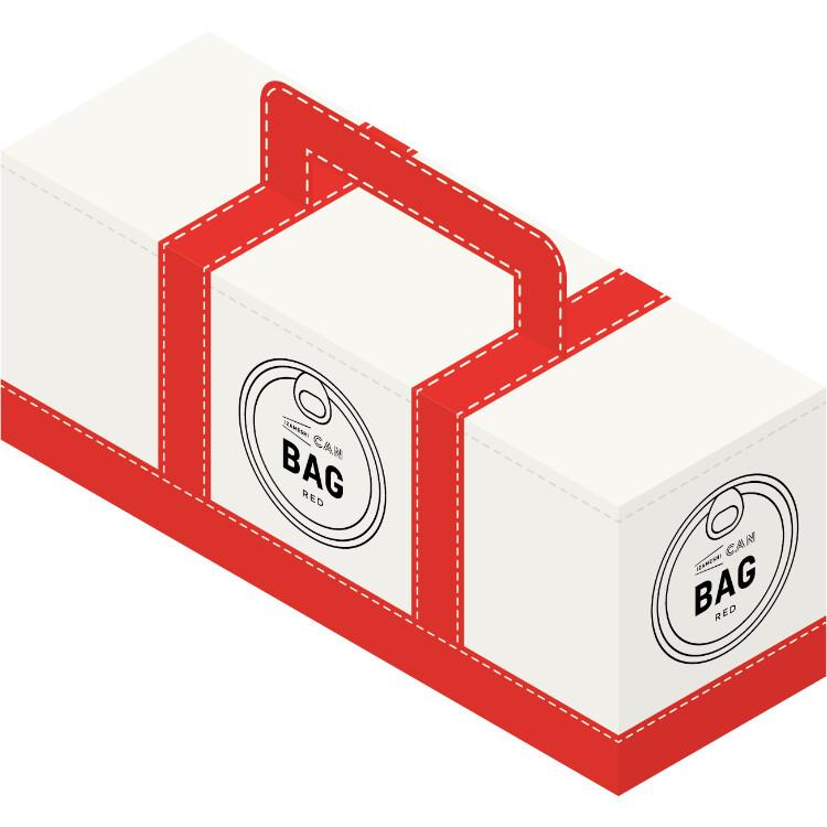 イザメシ缶BAG 6缶セット レッド